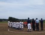 第18回我孫子市少年野球 新人大会3位決定戦に出場します